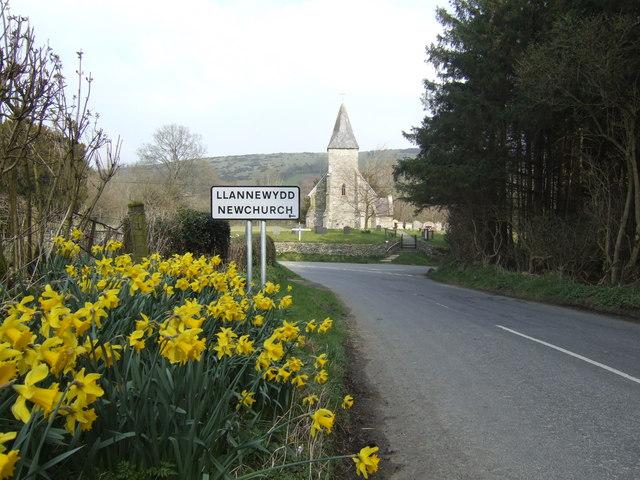 Springtime in Llannewydd/Newchurch