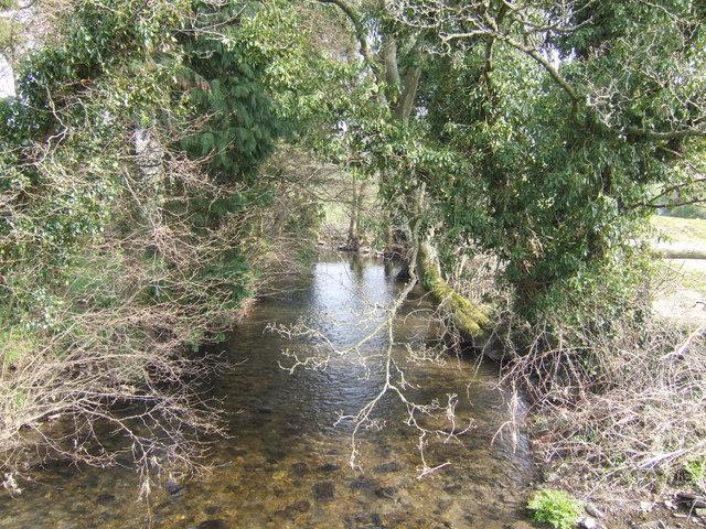 River Arrow at Pentiley - upstream