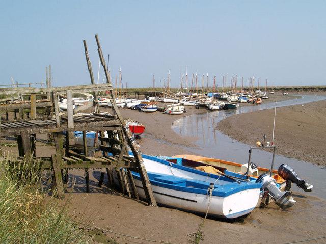 Low tide at Blakeney.
