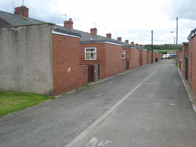 Back of Kimberley Street, Coundon Grange