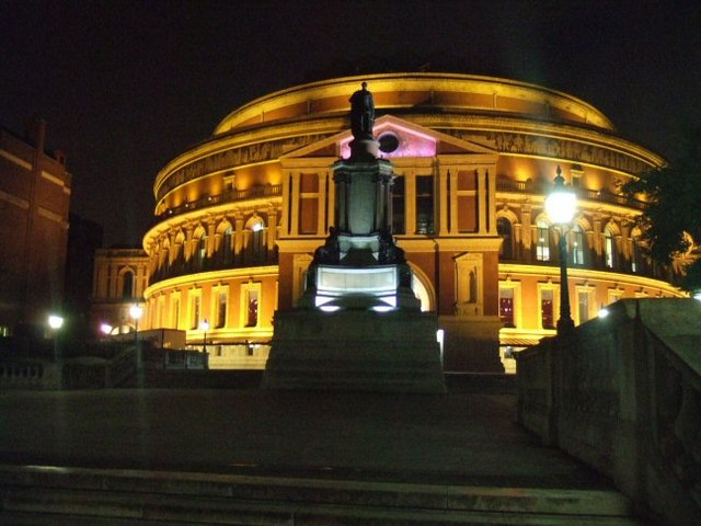 Albert Hall at Night
