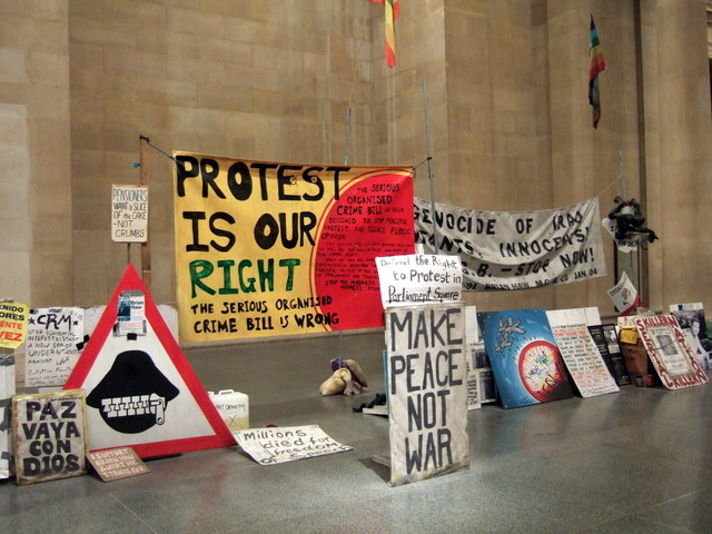 Parliament Square peace campaign at the Tate