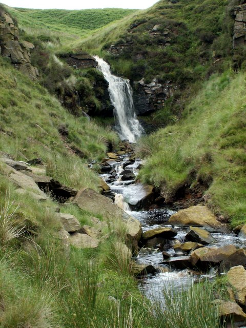 Meadow Clough Waterfall