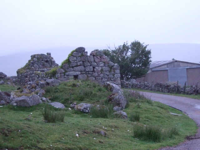 Ruined croft