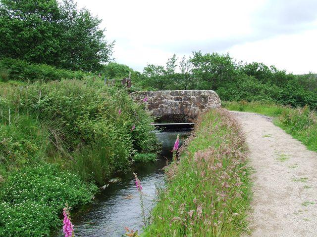 Bridge on Greenock Cut