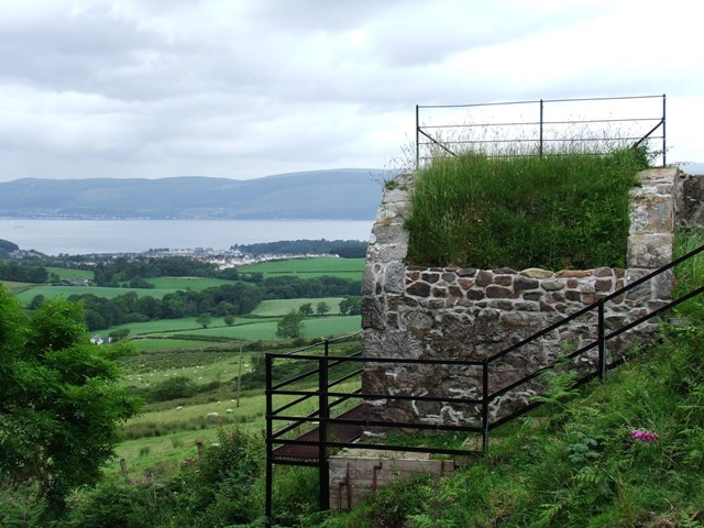 Water control building on Greenock Cut