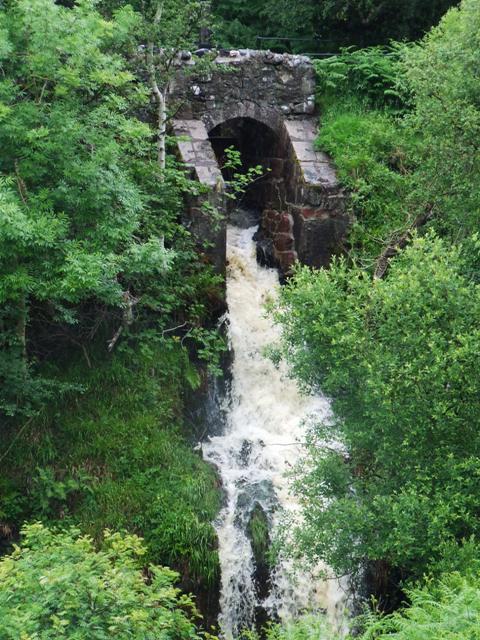 Waterfall on Greenock Cut