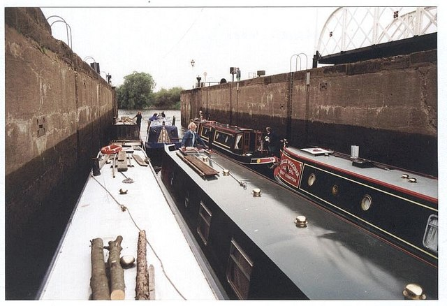 2001 : Naburn Lock, River Ouse