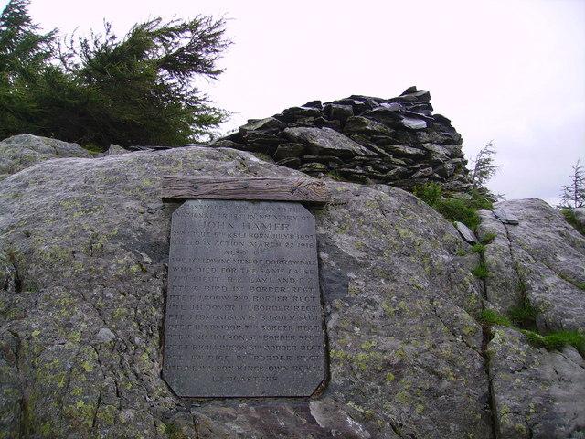 Memorial, Castle Crag
