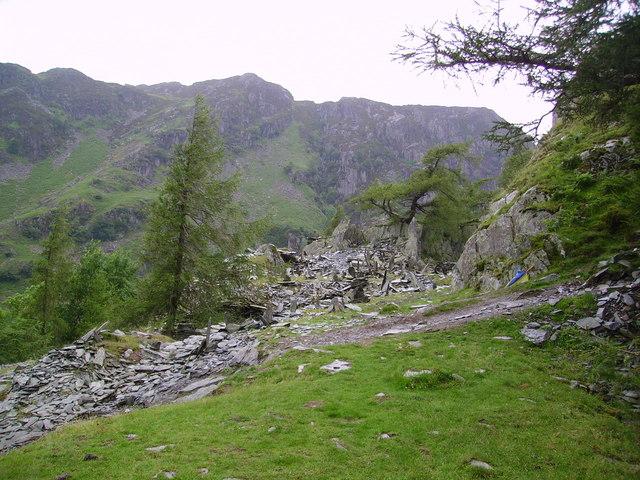 Quarry, Castle Crag