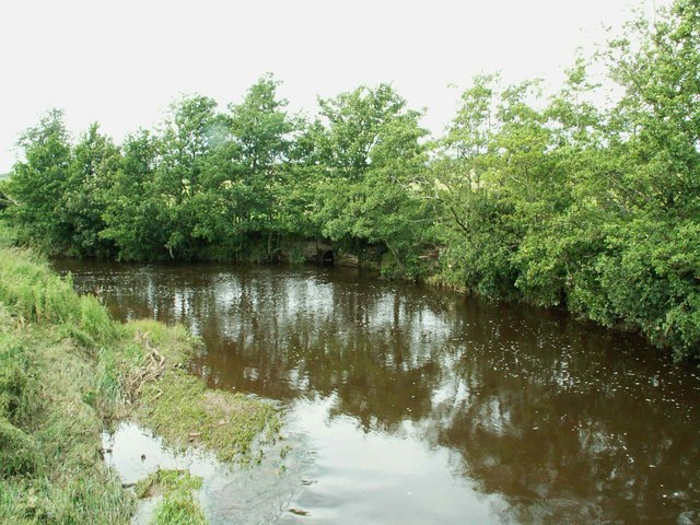 Kirtle Water, view upstream