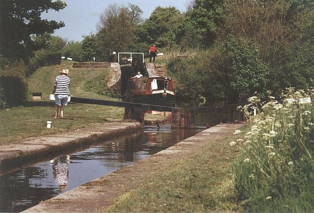 2001 : Bosley Locks - Macclesfield Canal