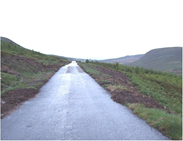 The Dunrobin/Golspie road down Dunrobin Glen