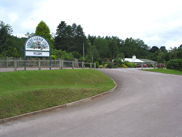 Entrance to Garden Centre Huntley