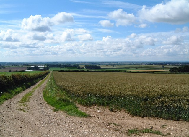 Farm track to Great Houndale