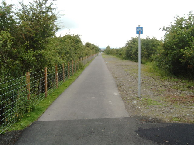 Maxwelltown Cycle Path, route no. 7 of the National Cycle Path Network