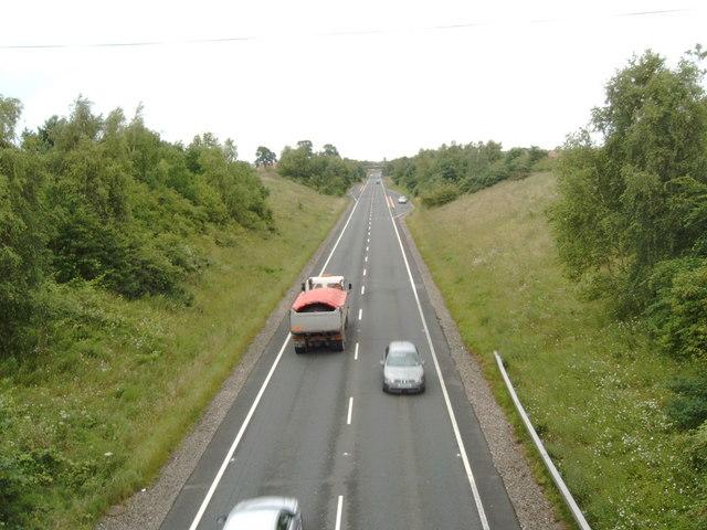 A75 bypass around Dumfries