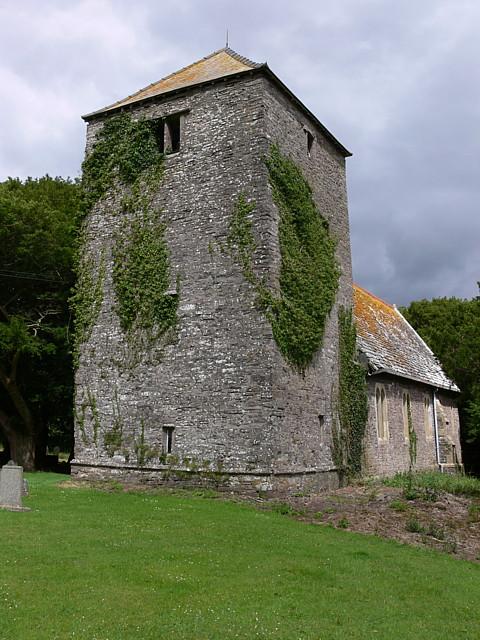 Cantref Church, Near Brecon