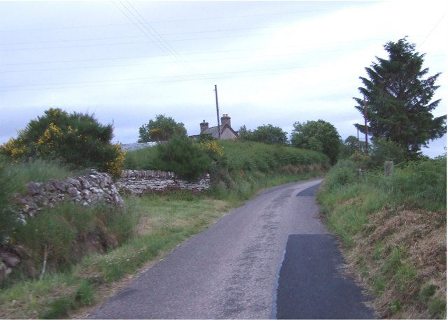 Road through Backies