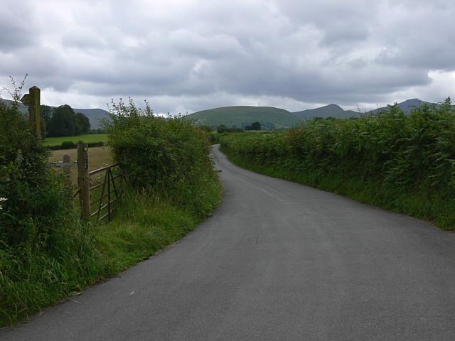 Footpath To Llanfrynach