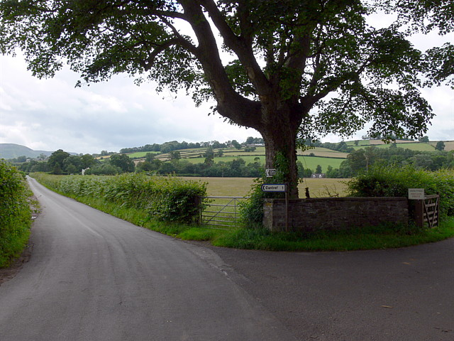 Entrance To Abercynrig