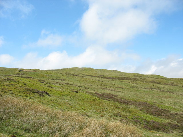 The eastern slopes of Pen y Foel Ddu