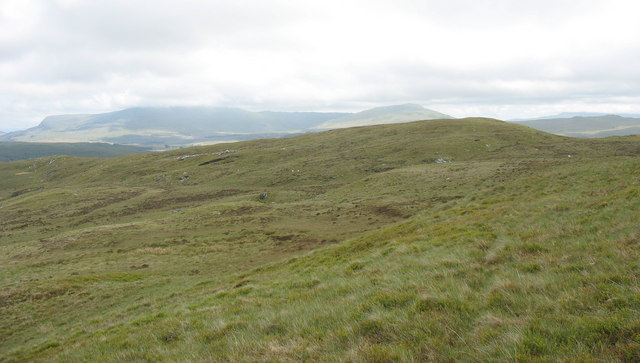 The head of the Afon Goch basin