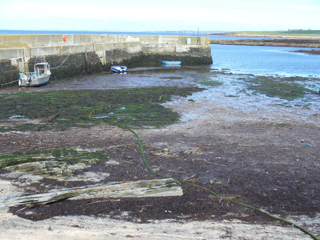 Harrow Harbour at Low Tide