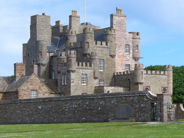 Castle of Mey from the North-west