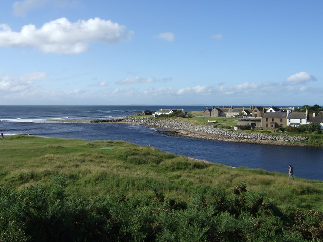 Mouth of Brora River