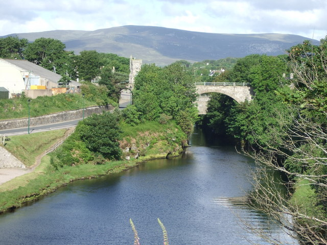 View upstream River Brora