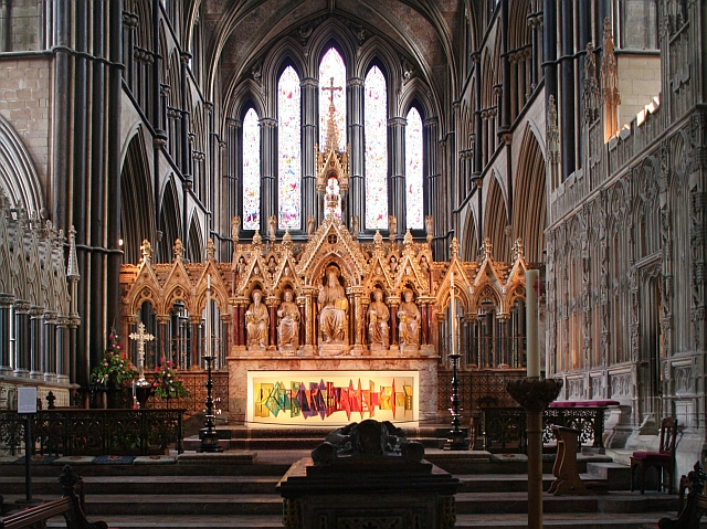 The High Altar, Worcester Cathedral