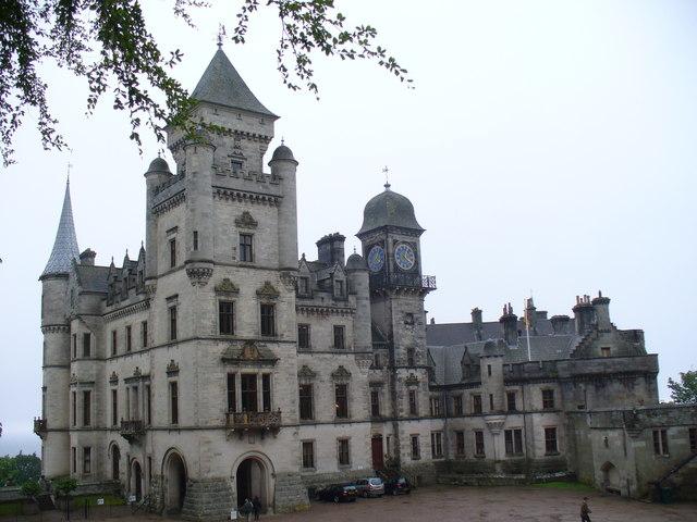 Dunrobin Castle, North Front