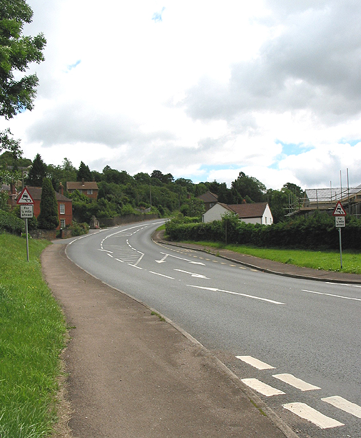 A4136 to Little London from Longhope