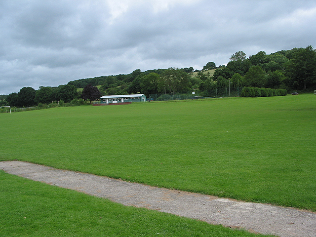 Recreation ground at Longhope