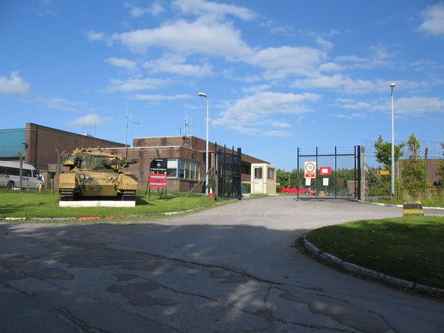 Royal Tank Regiment workshops.