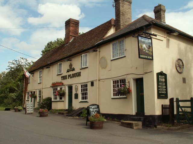 'The Plough' inn