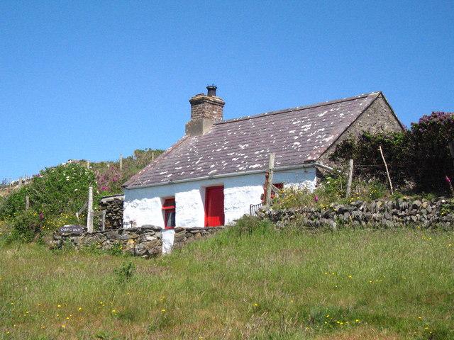 Carreg Bach on Ynys Enlli (Bardsey Island)