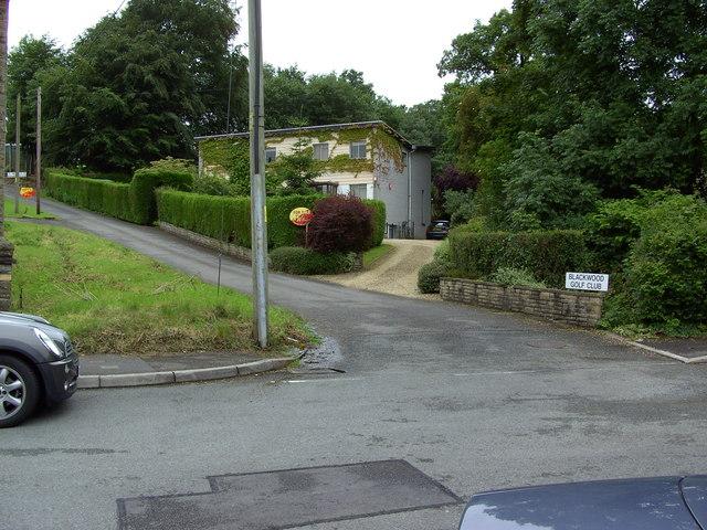 Blackwood Golf Club entrance