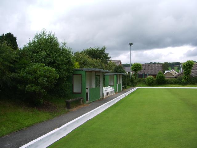 Team dugouts, Crosshills Bowls Club