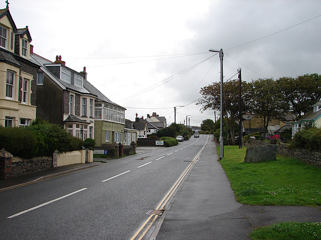 Bossiney Road, Tintagel