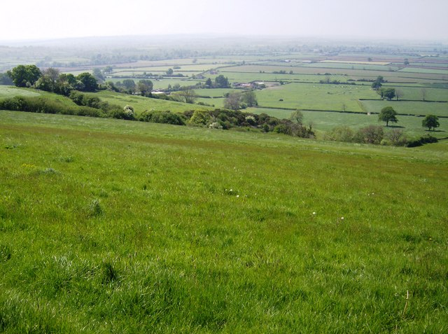 View off Corton Ridge