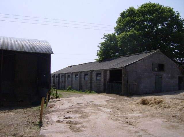 Stafford Green Farm buildings