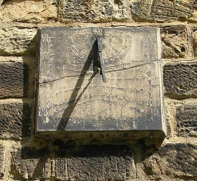 Sundial - North Side of All Saints Church - Stocks Lane