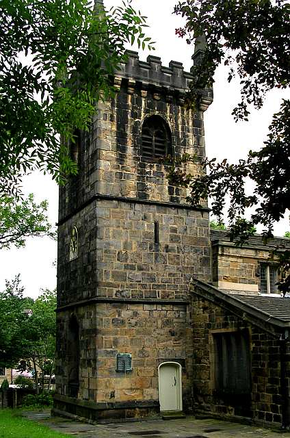 All Saints Church Tower - Stocks Lane