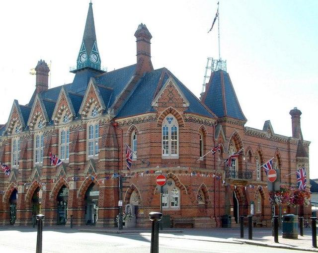 Original (nearly) Town Hall, Wokingham