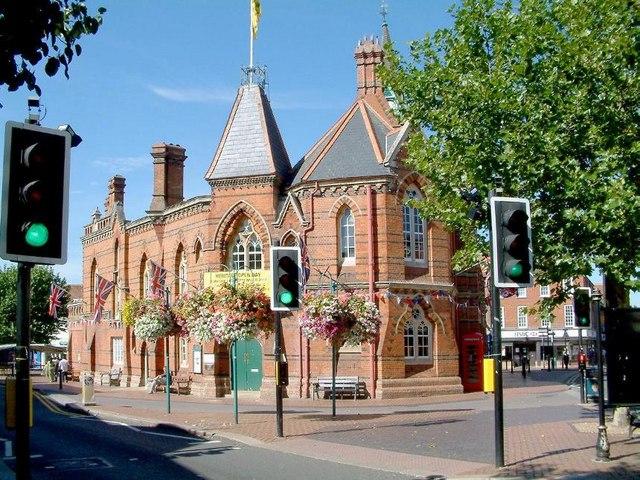 Former Town Hall, Wokingham