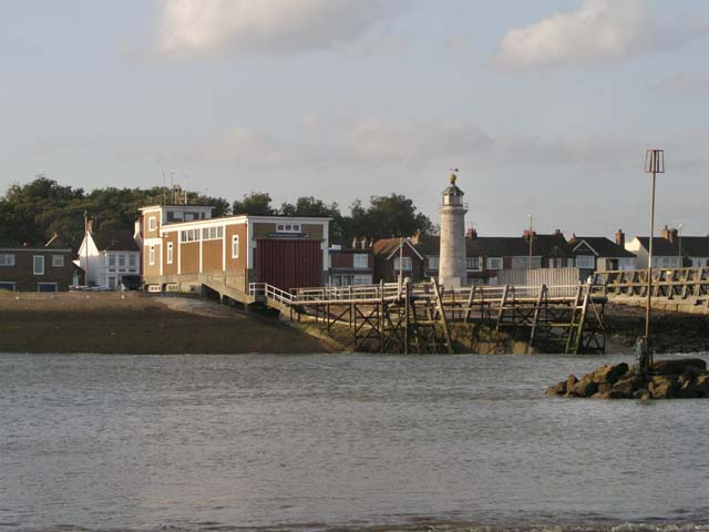 Shoreham lifeboat station and lighthouse