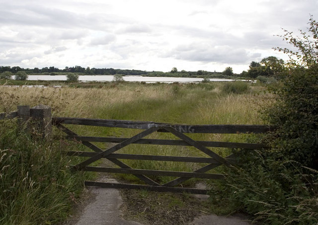 Gate to River Wharfe, Ryther
