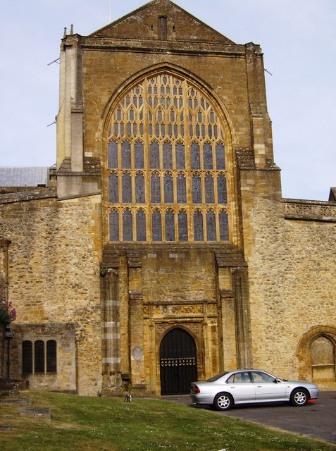 Sherborne Abbey west end